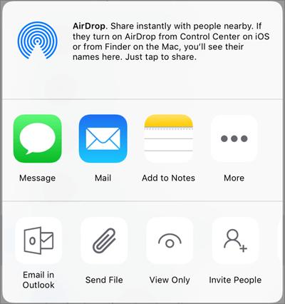 Koplietošana pakalpojumā OneDrive
