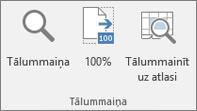 Excel lentes grupa Tālummaiņa