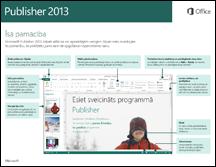 Publisher2013 īsā lietošanas pamācība