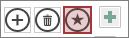 Pielāgotas darbības poga tīmekļa datu lapā