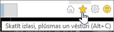 Internet Explorer padeves poga
