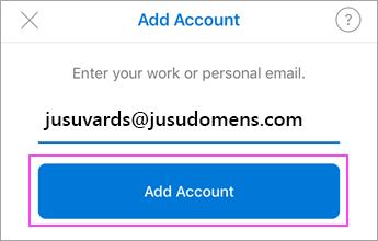 Ievadiet savu e-pasta adresi