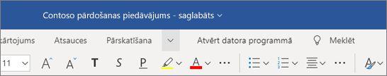 Nosaukuma piešķiršana failam/faila pārdēvēšana