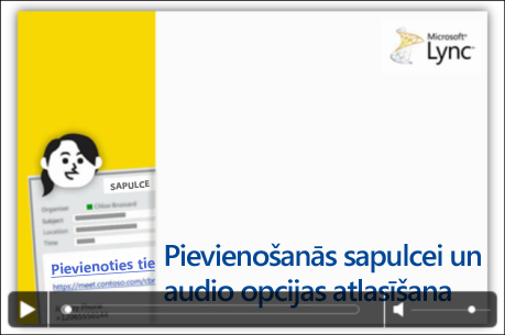PowerPoint slaida un video vadīklu ekrānuzņēmums