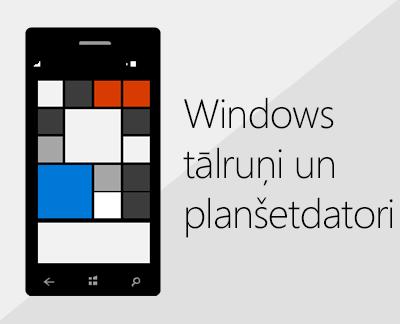 Noklikšķiniet, lai Windows tālruņos iestatītu Office un e-pastu