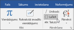 LaTeX formāts