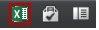 Excel ikona programmā Excel Web App