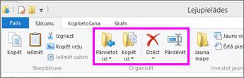 Atveriet mapi, kurā atrodas lejupielādētais fails.
