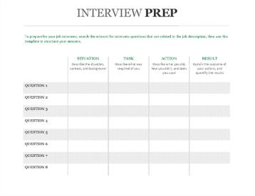 Intervijas sagatavošanas rokasgrāmata, kas seko pēc zvaigznes veida