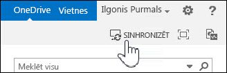 OneDrive for Business sinhronizēšana pakalpojumā SharePoint 2013
