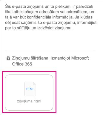 OME skatītājs iOS pasta programmai 1