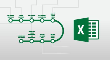 Excel 2016 apmācības plakātu