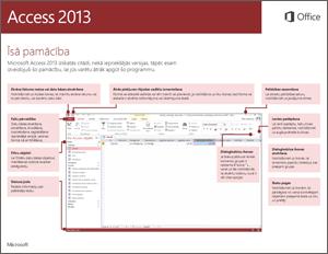 Access2013 īsā pamācība