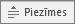 piezīmju poga programmā PowerPoint