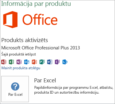 Excel Msi instalācijas