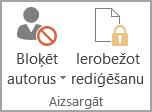 Dokumenta aizsardzība