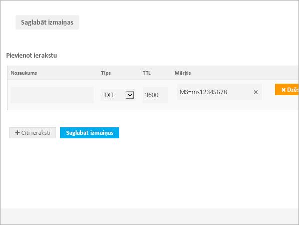 Freenom TXT vērtības verification_C3_2017530133639