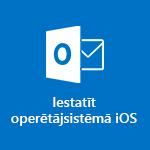 Programmas Outlook darbam ar iOS iestatīšana