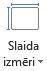 Slaida lieluma ikona
