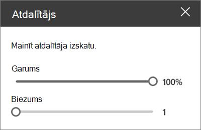 Atdalītāja tīmekļa daļa detalizētās informācijas rūts pakalpojumā SharePoint Online, rediģējot vietni
