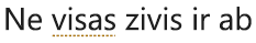 Rakstīšanas stila kļūda, kas atzīmēta ar punktētu zelta līniju