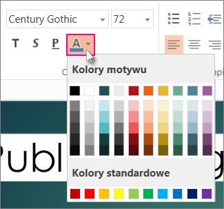 Izvēlieties teksta krāsu