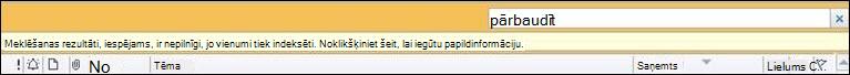Kļūda programmā Outlook