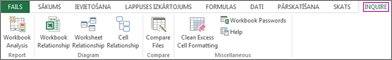 Cilne Diagnostika programmā Excel