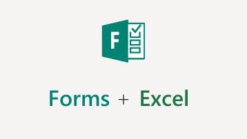 Iepazīšanās ar Excel veidlapām