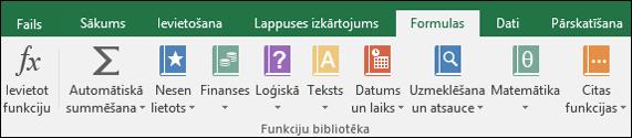 Excel lentes cilne Formulas