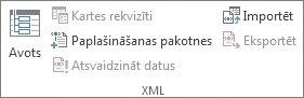 XML datu atsvaidzināšana