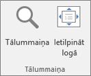 PowerPoint lentes grupa Tālummaiņa