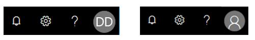 Galvenes sadaļa ar noklusējuma fotoattēlu