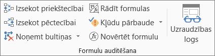 Cilnes Formulas grupa Formulu auditēšana