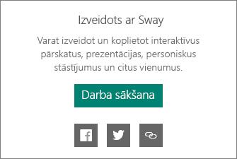 Marķējums Veidots ar Sway