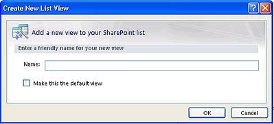 SharePoint Designer saraksta skati