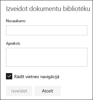 Detalizēti par dokumentu bibliotēkā