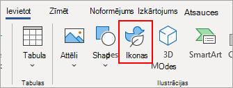 Atlasiet ikonas