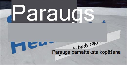 Teksta tīmekļa daļa
