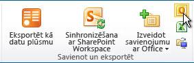 OneDrive darbam sinhronizēšana ar datoru