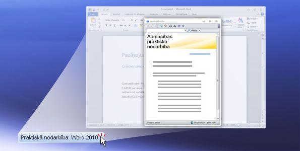 Word 2010 praktiskā nodarbība