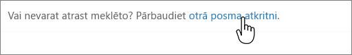 SharePoint 2016 otrā līmeņa atkritnes saites