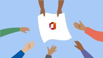 Koplietojiet Microsoft 365 ģimenēm ar līdz pat 5 citiem lietotājiem