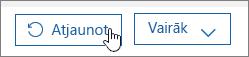Atjaunojiet lietotāju pakalpojumā Office365.