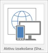 Pogas Access tīmekļa lietojumprogrammas veidne