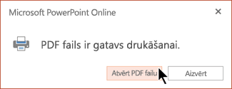 Jūsu PDF fails ir gatavs
