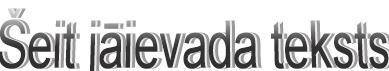 Parastais WordArt formatējums programmā Publisher 2010