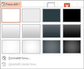 PowerPoint fona stili