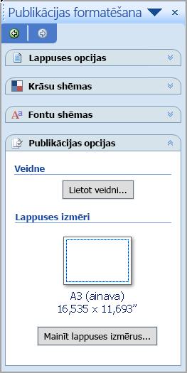 Publikācijas formatēšana