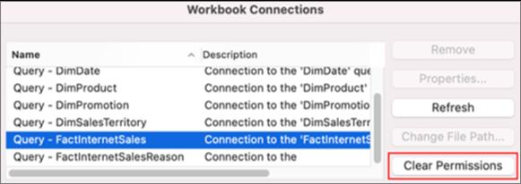 Saglabāto akreditācijas datu noņemšana darbam ar Mac datorā